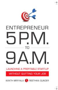 Entrepreneur 5pm to 9am