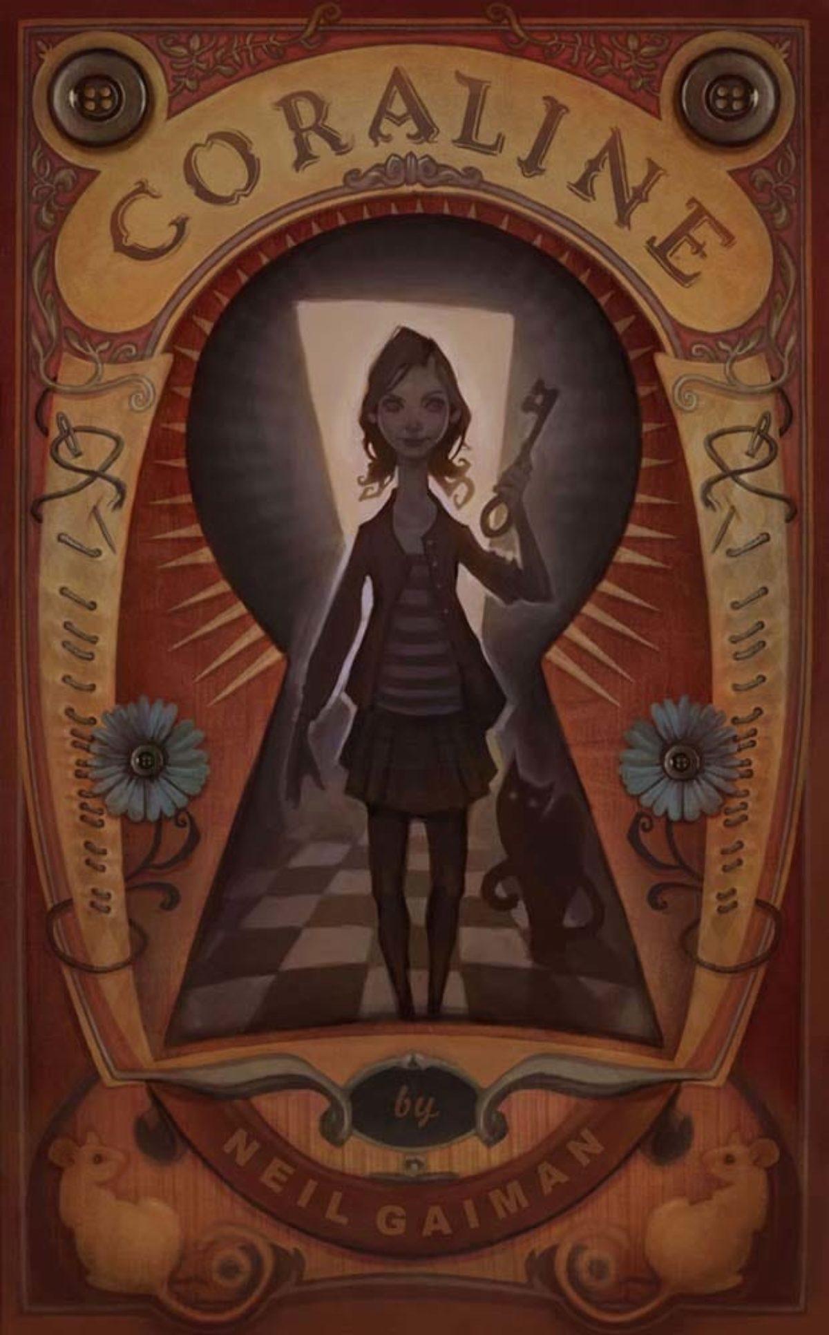 Coraline Neil Gaiman Book Review Bookgeeks In