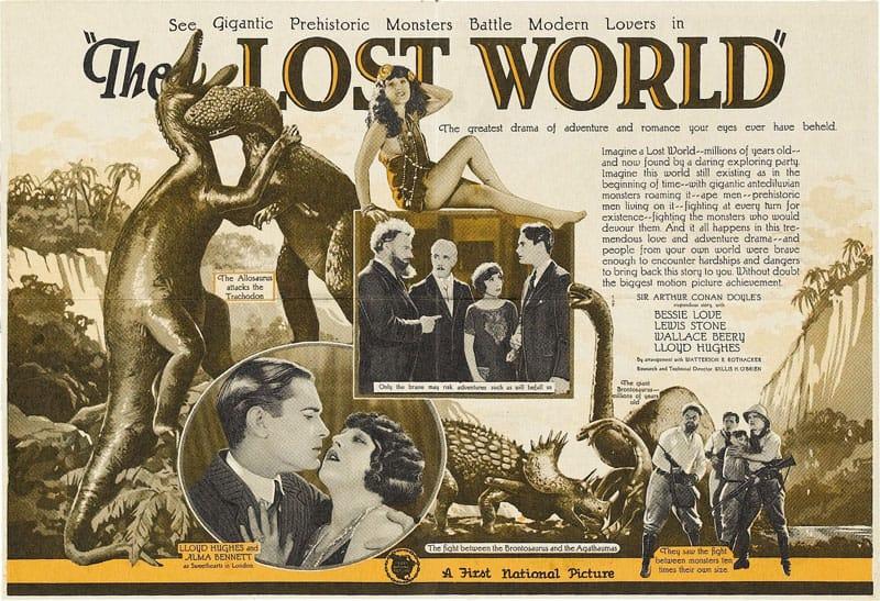Arthur Conan Doyle Jurassic Park The Lost World