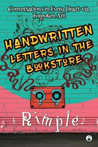 Handwritten Letters in the Bookstore