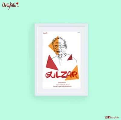 Gulzar Poster Artykite