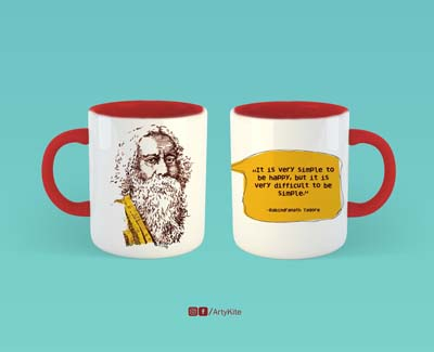 Tagore Mug Artykite