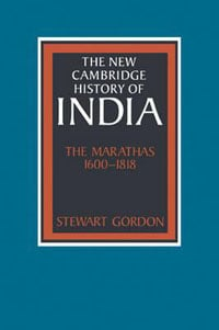 The Marathas by Stewart Gordon