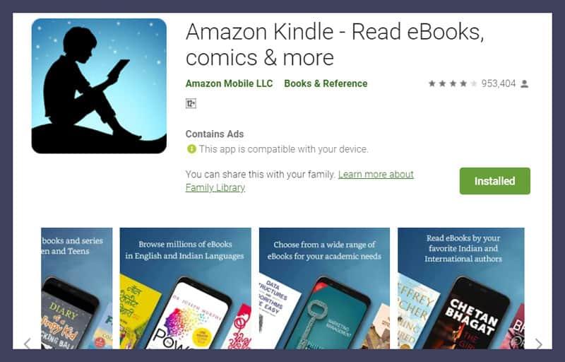 Amazon Kindle - Read eBooks comics and more