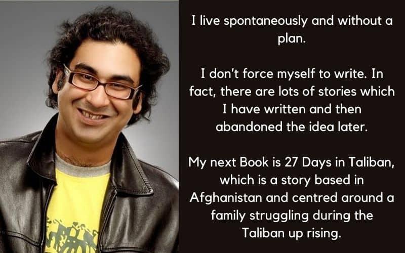 Anuj Tikku Author Interview