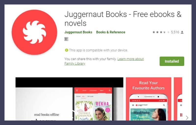 Juggernaut Book - Free ebooks and novels