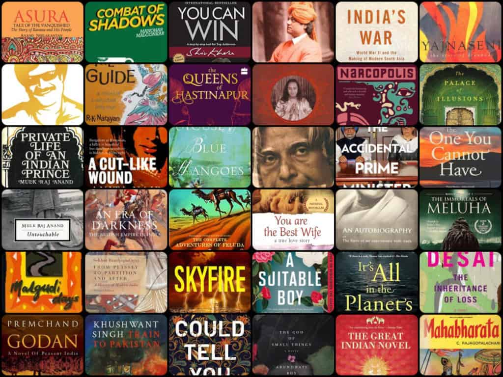 Best Indian Books by Indian Authors