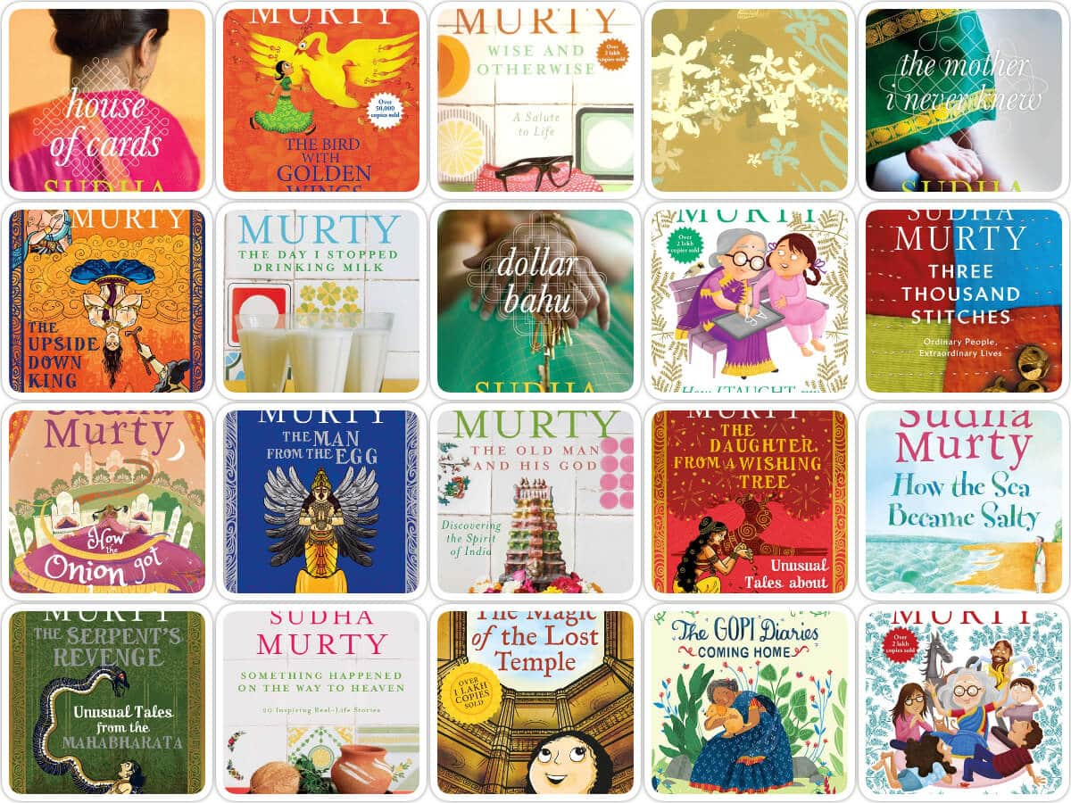 Sudha Murty Books Stories List