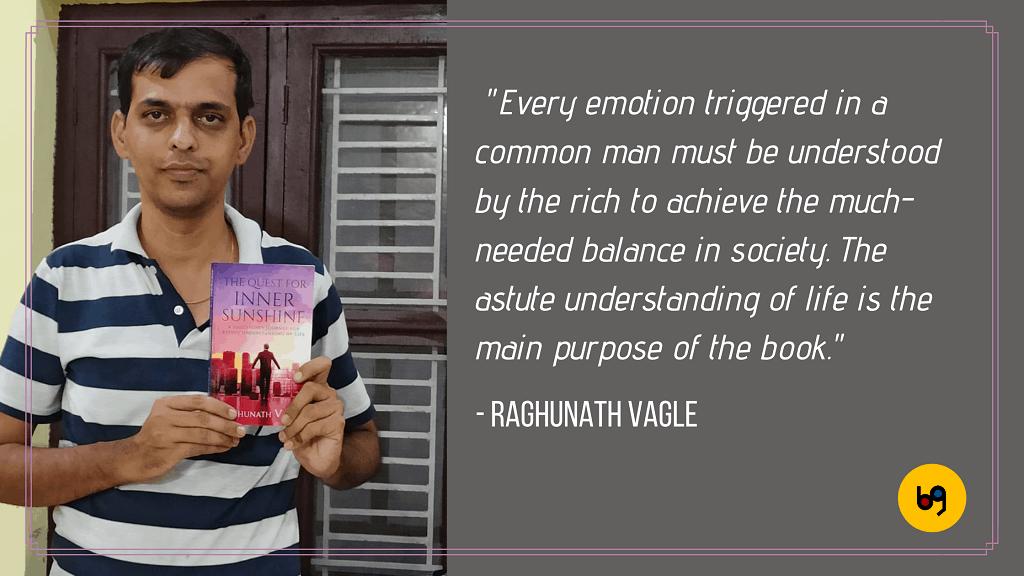 Raghunath Vagle author interview bookgeeks