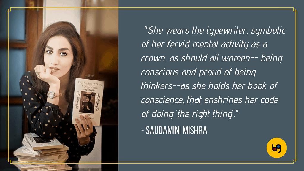Saudamini Mishra author interview bookgeeks