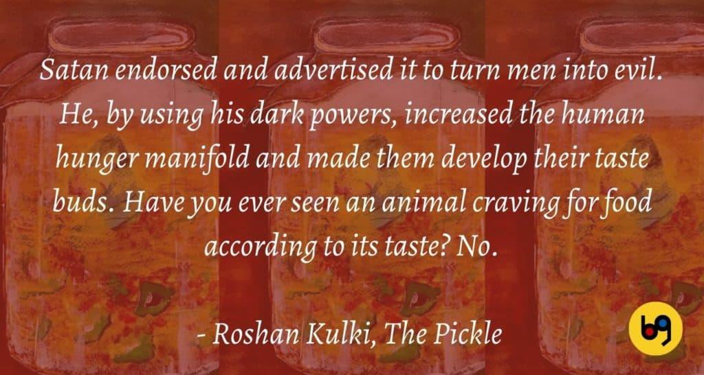 The Pickle by Roshan Kulki Book Review bookGeeks (2)