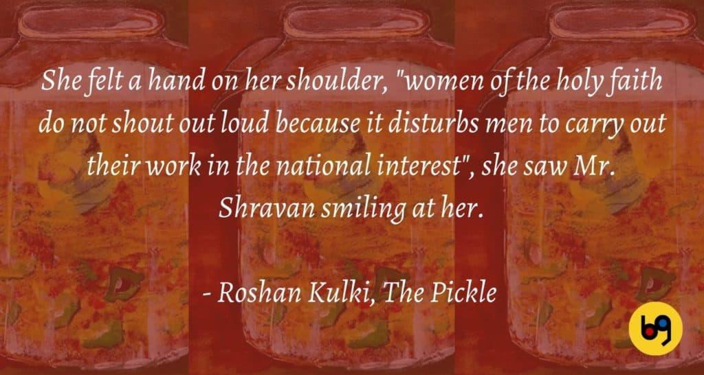 The Pickle by Roshan Kulki Book Review bookGeeks (3)