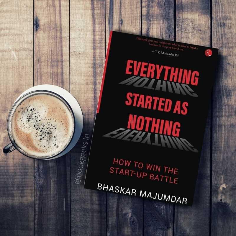 Everything Started As Nothing by Bhaskar Majumdar