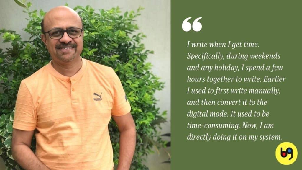 P C Bala Author Interview