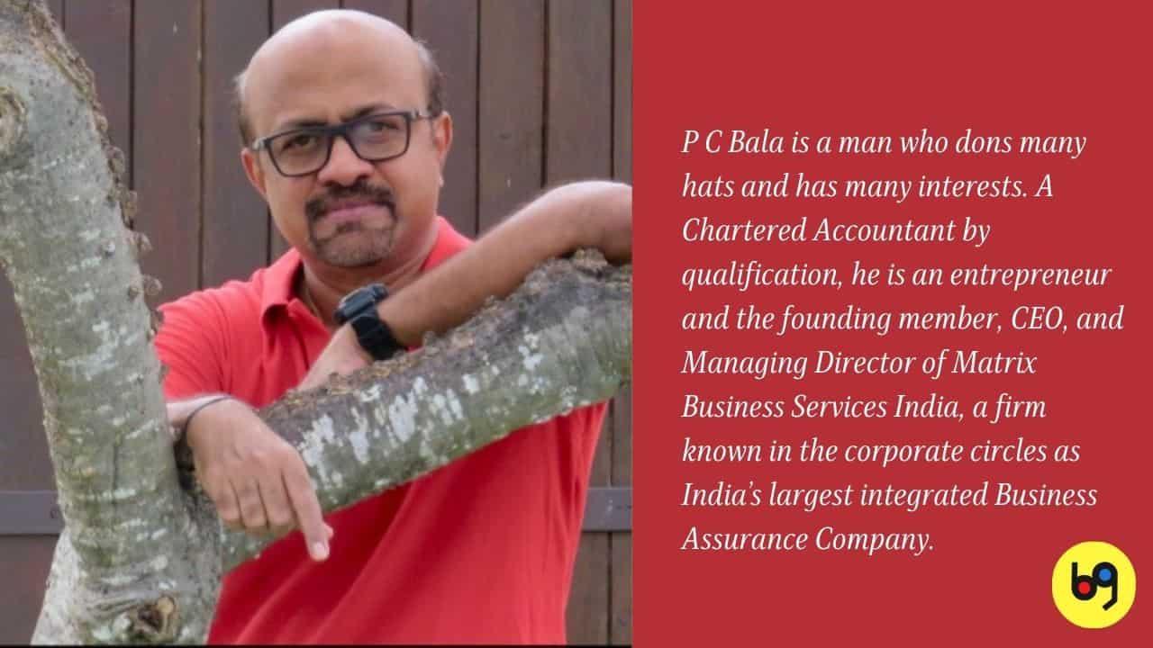 P C Bala talks about his book Jujube