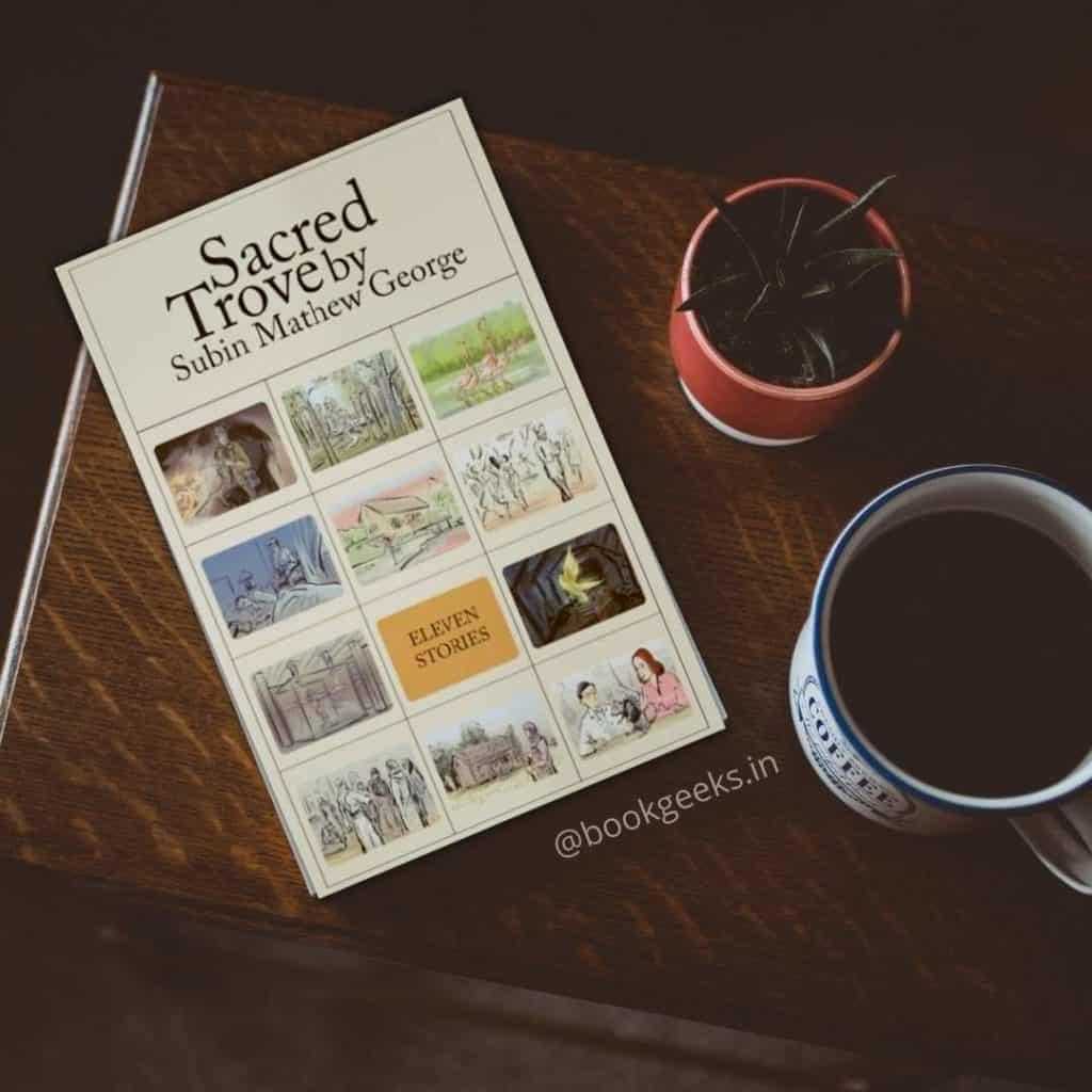 Sacred Trove by Subin Mathew George Book